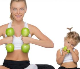 Programas de educação alimentar para famílias